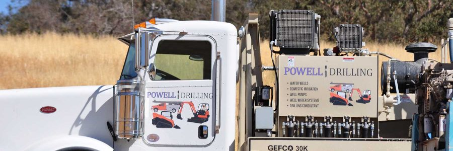 Water Well Drilling in San Miguel, California 93451