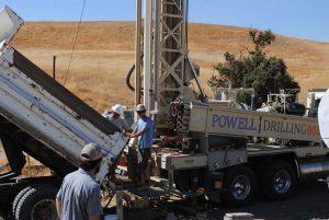 water well drilling crew san simeon 93452